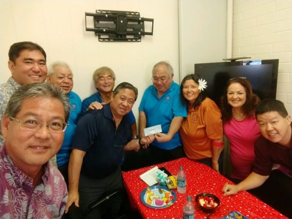 Hilo Ys Club Donation