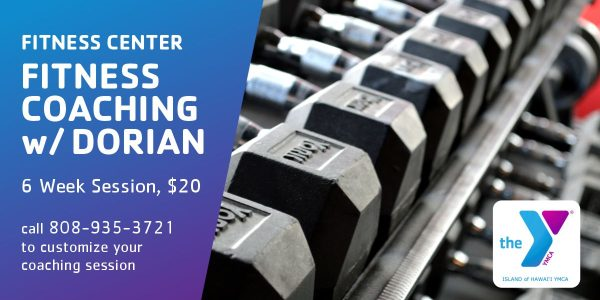 YMCA Fitness Coaching with Dorian